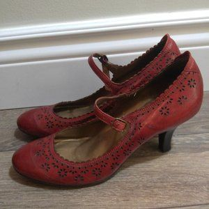 Gorgeous Bos & Co Leather Heels